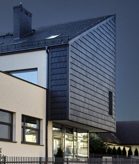 Family house in Elk Poland with Actua 10 roof tile